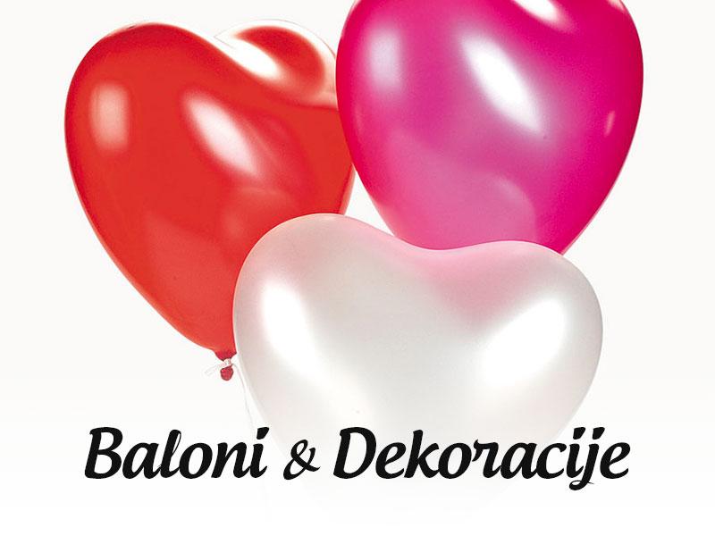 baloni i dekoracije