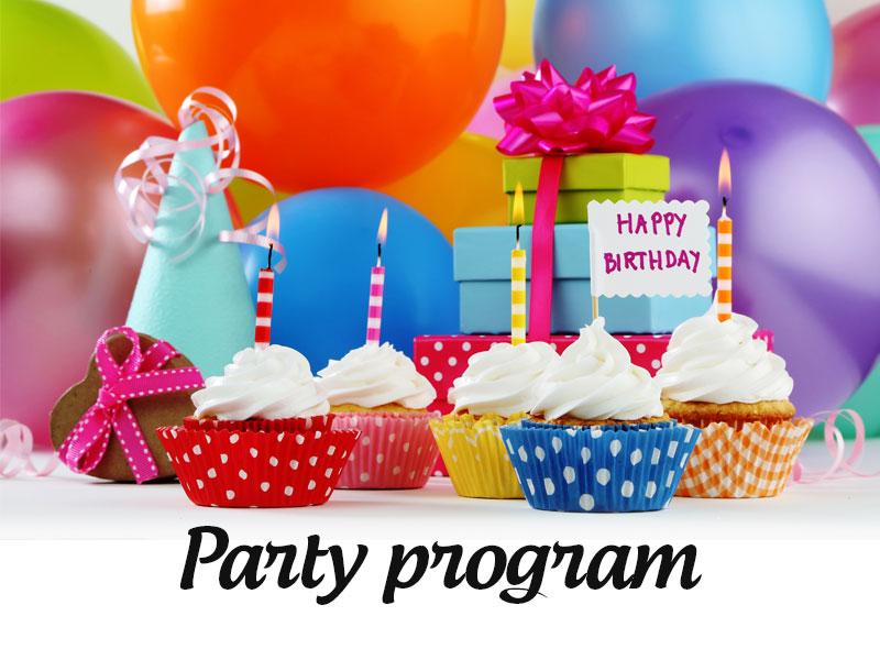 party program za rođendan Kuća balona   Party program party program za rođendan